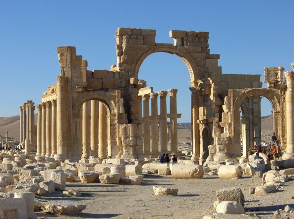 Siria, arco di trionfo