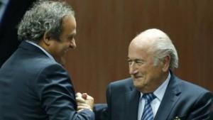 Blatter e Platini